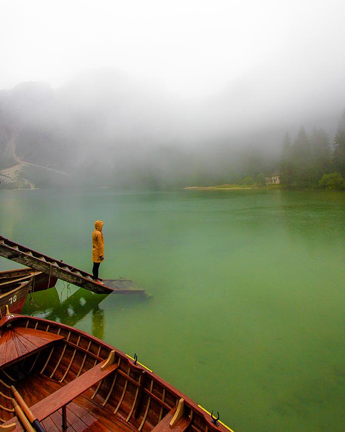 Chanell e il lago
