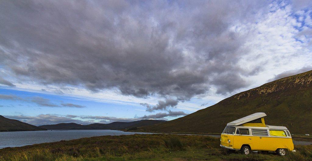 Wild nell'isola di Skye
