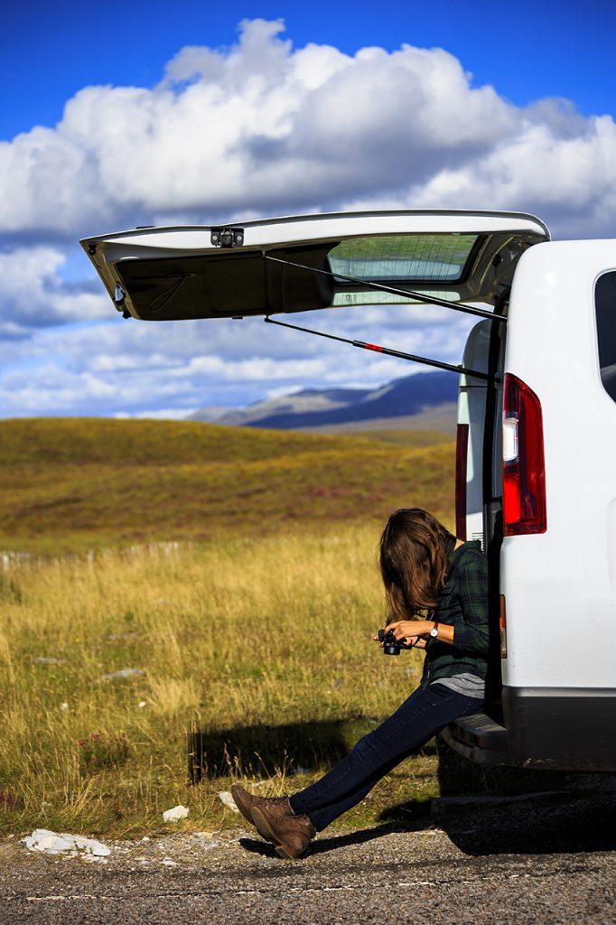 Photography break Highlands