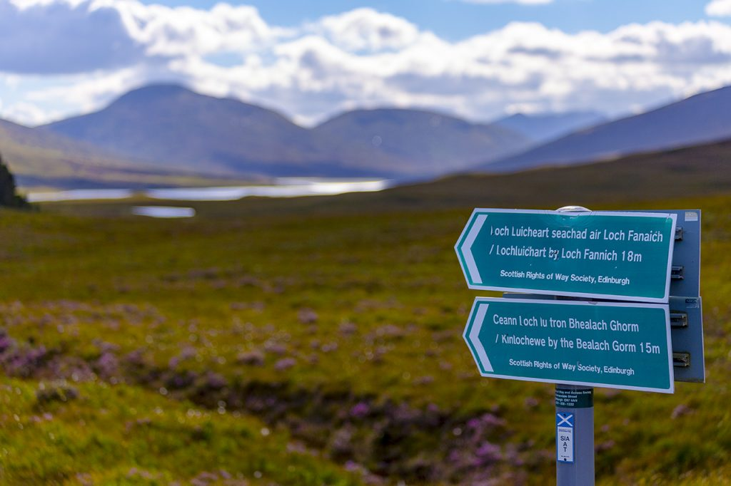 Gaelic Signs Highlands
