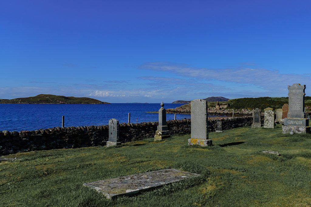 Spiaggia Badenscallie cimitero highlands