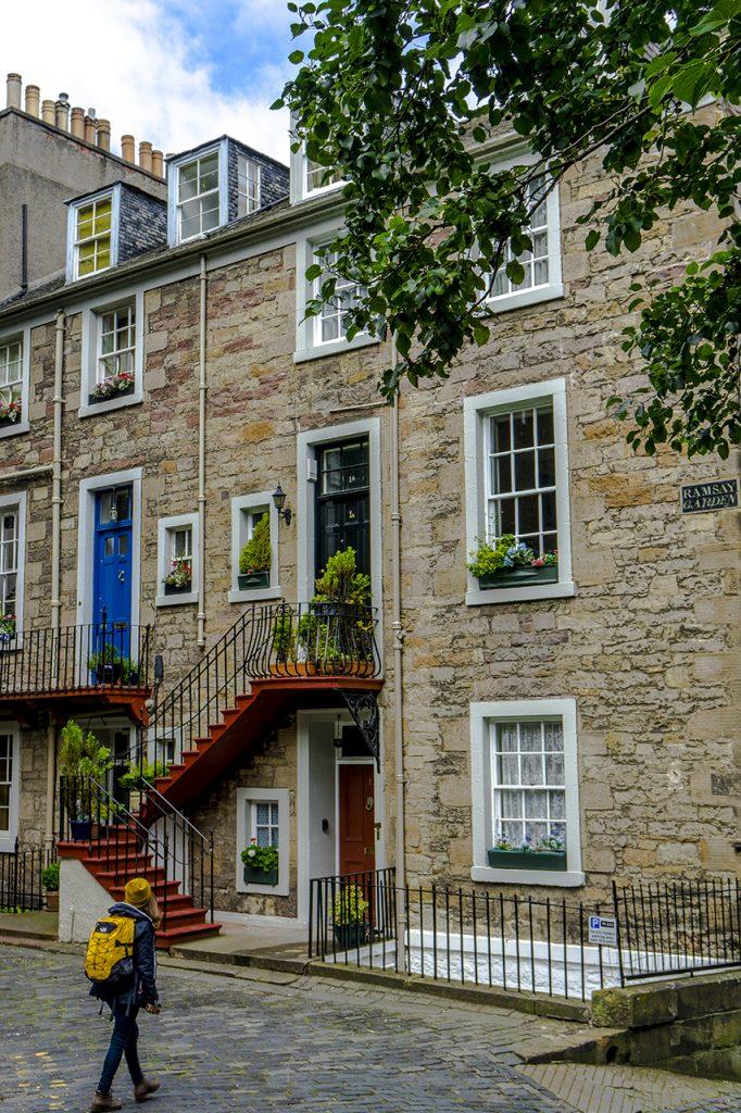 Valentina e i vicoli di Edimburgo