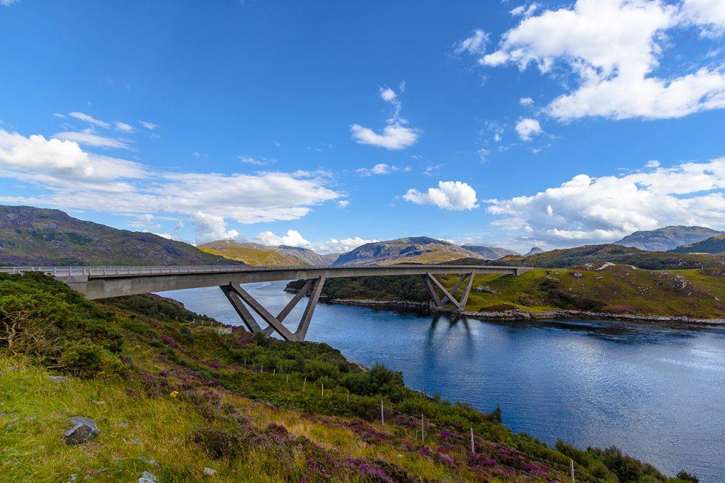 Kylesku Bridge Highlands