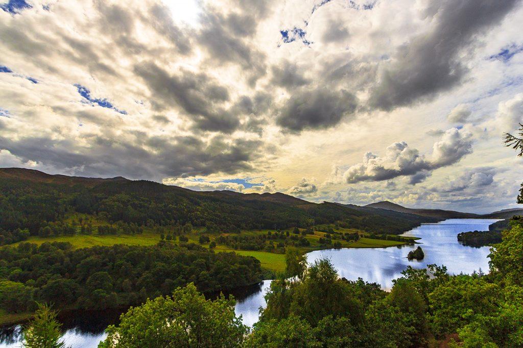 Queen's view highlands
