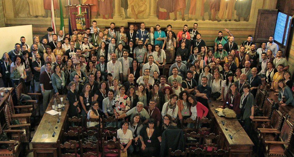 foto assemblea nazionale instagramers italia arezzo fine lavori palazzo gruppo local