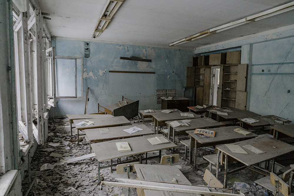 chernobyl prypiat scuola
