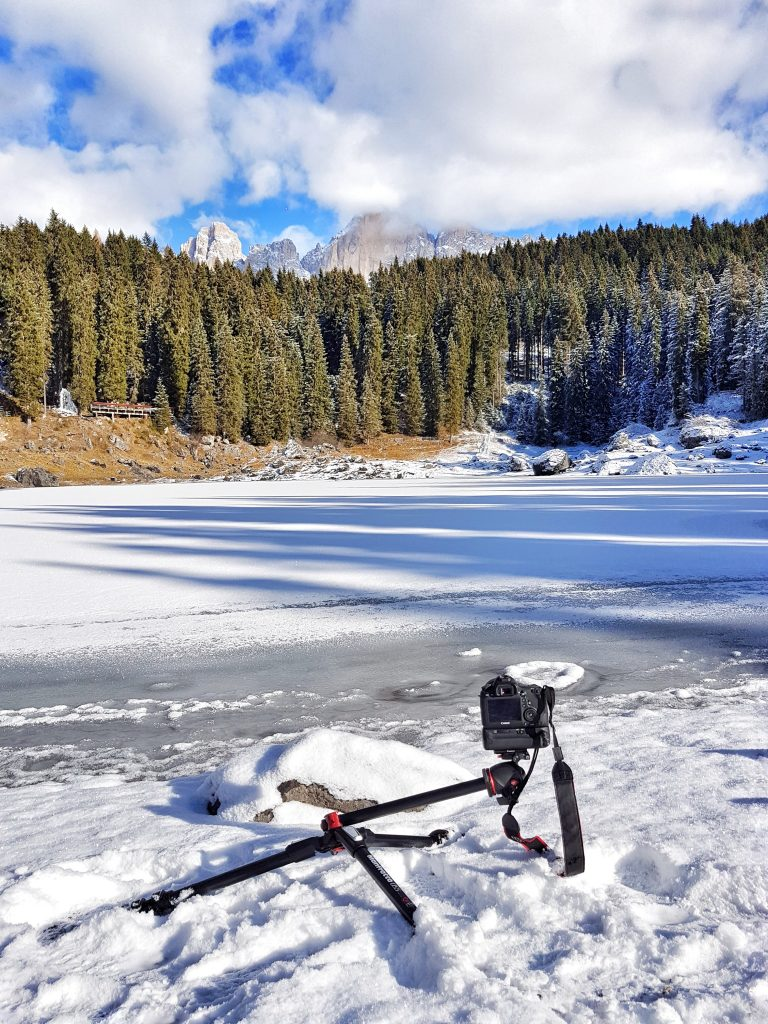 manfrotto treppiede lago di carezza 055