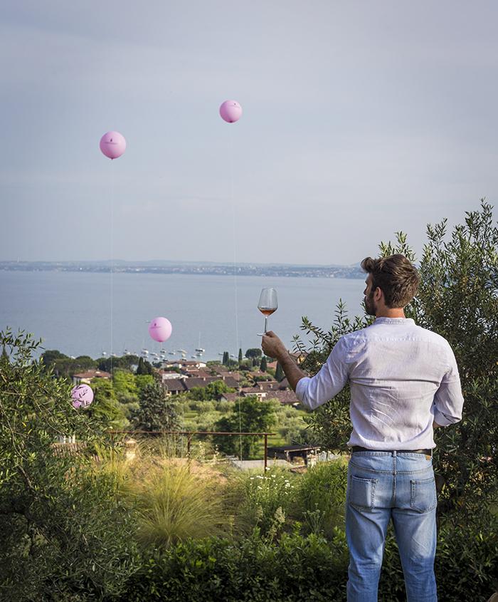 Italia in rosa, castello, moniga del garda