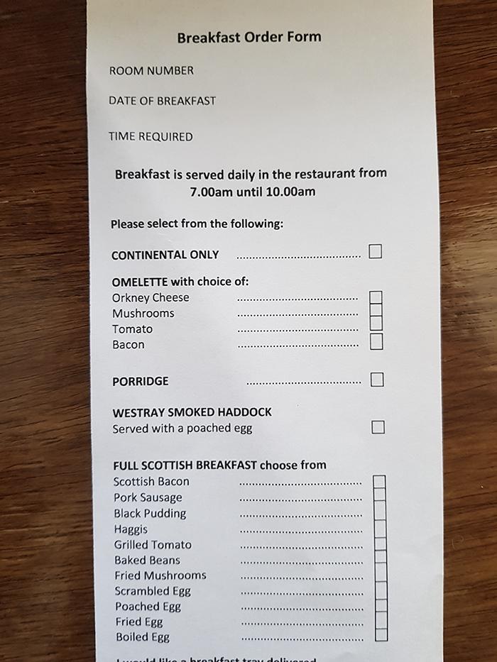 Colazione scozzese