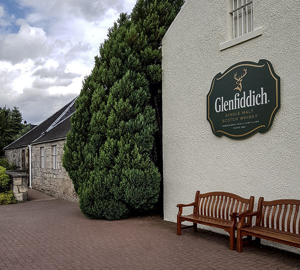 glenfiddich distilleria scozia aberdeenshire whishy