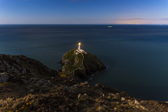 South Stack lightouse