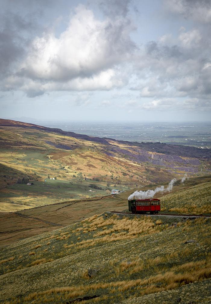 Galles del nord - snowdonia - Snowdon mountain railway