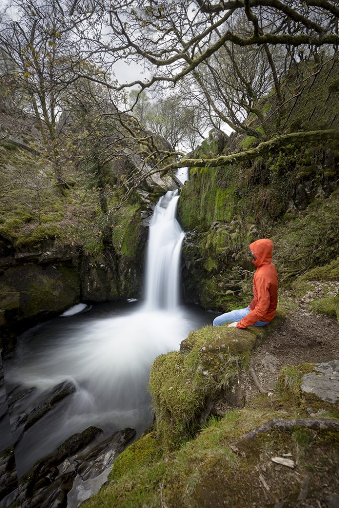 Galles del Nord - Llamberis Snowdonia - Ceunant Mawr Waterfall