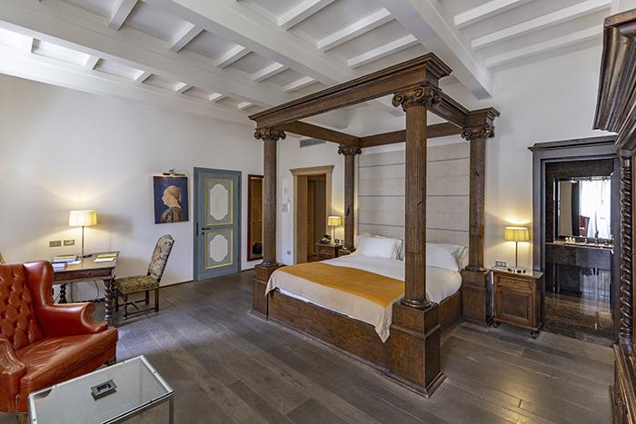 La Junior Suite di Palazzo Seneca norcia