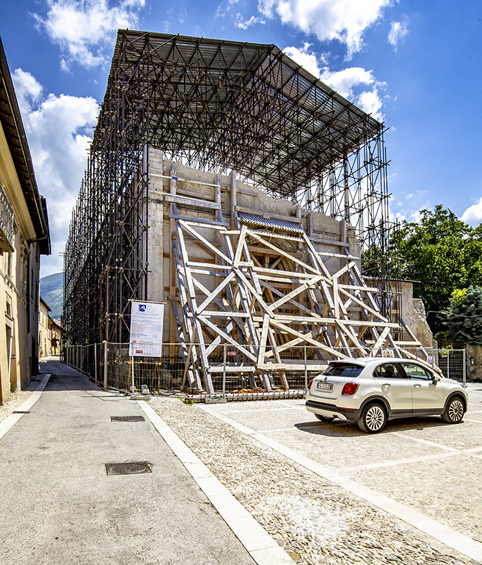 norcia sant'agostino chiesa