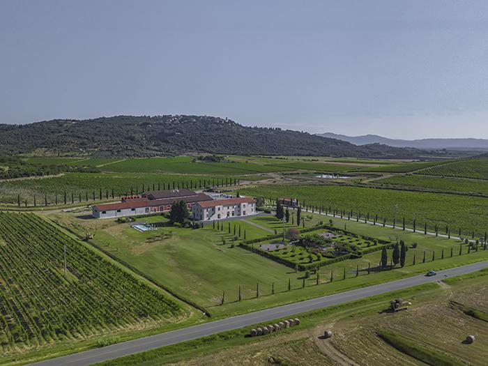 Tenuta Fertuna - Drone view