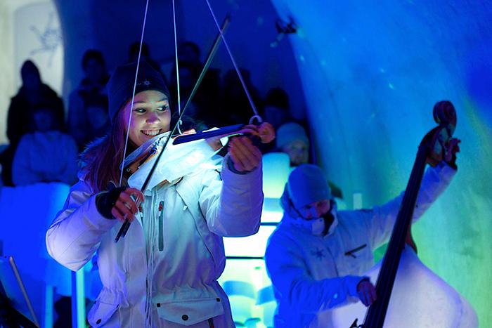 ice music festival ponte di legno passo del tonale ghiacciaio presena