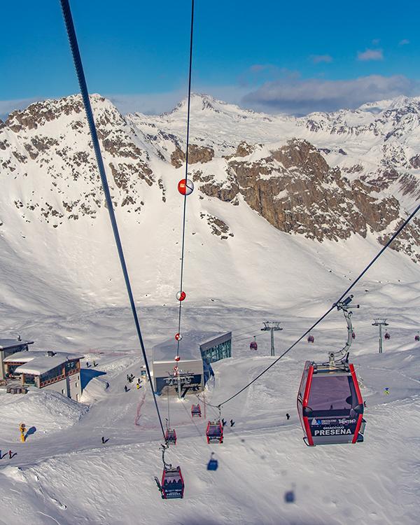 ghiacciaio presena 3000 metri