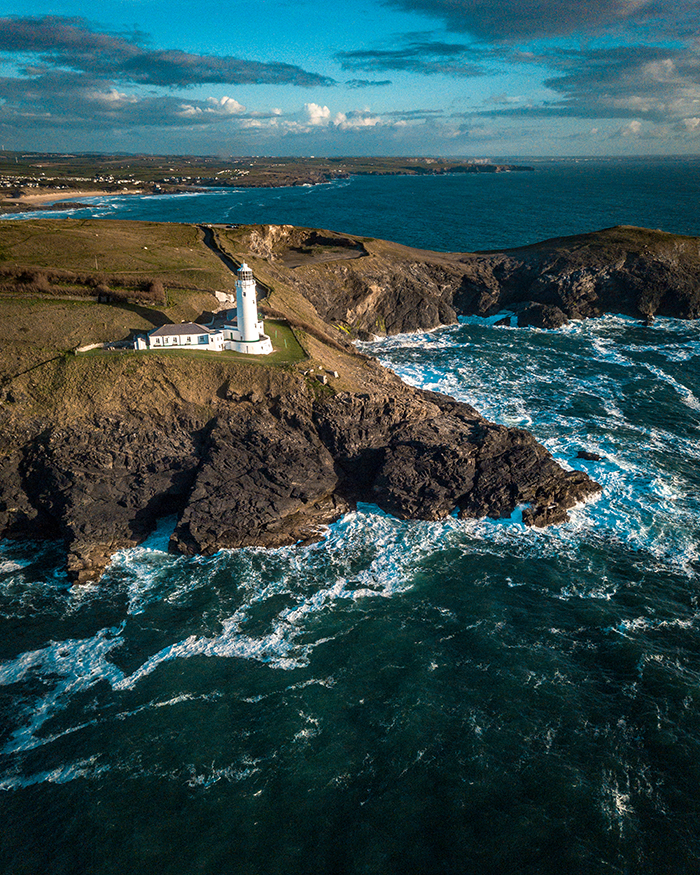 Trevose Head Lighthouse cornovalgia