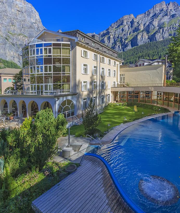 Helio Park, la piscina