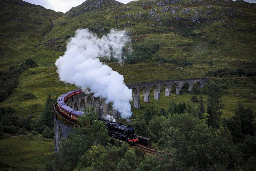 Gelnfinnan Viaduct o per meglio dire il Viadotto di Harry Potter