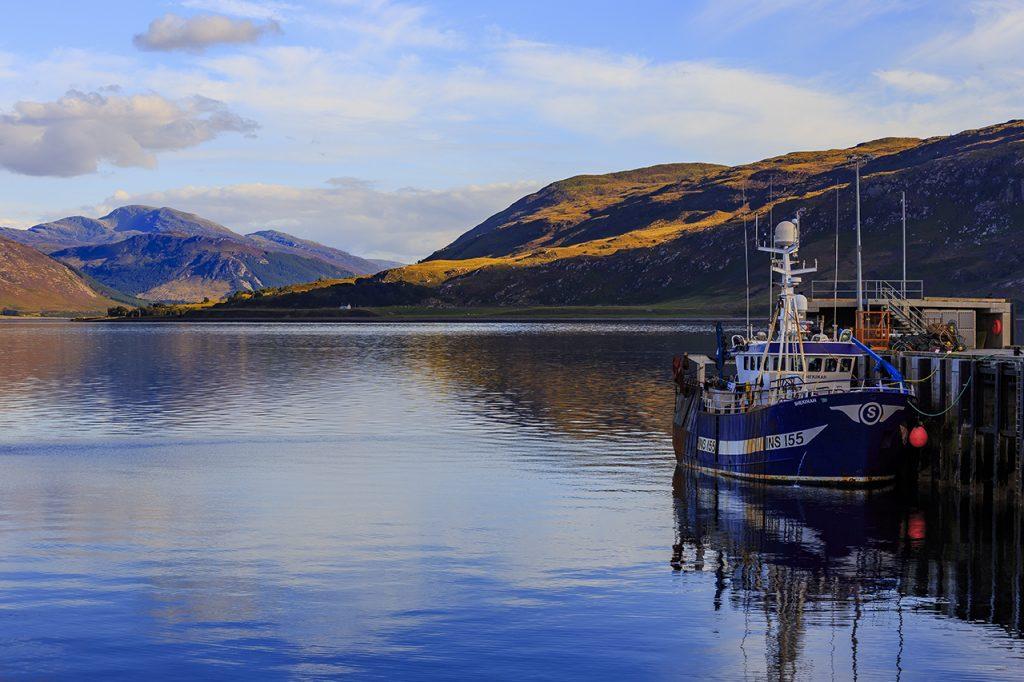 Fisherman boat - Ullapool Highlands