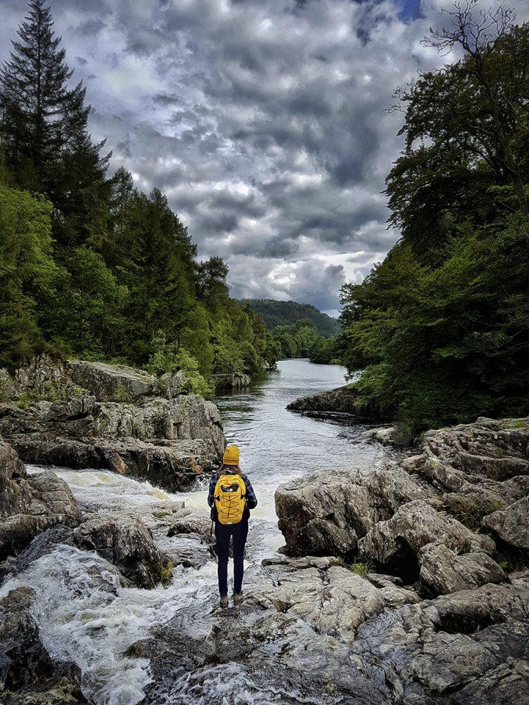 Rapide sconosciute highlands