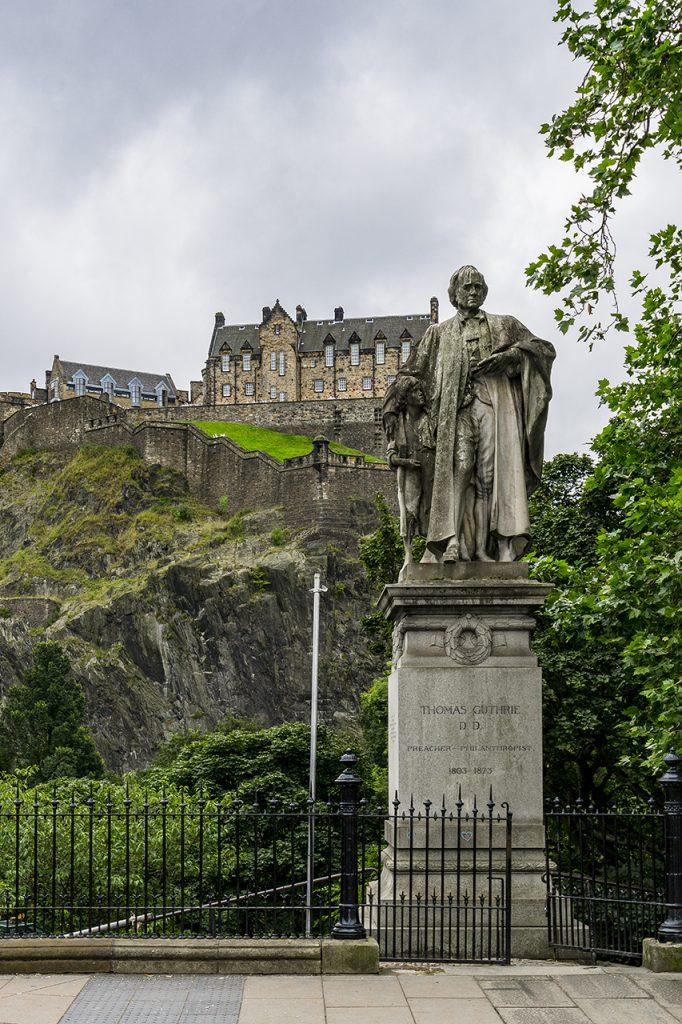 Thomas Guthrie e il Castello di Edimburgo