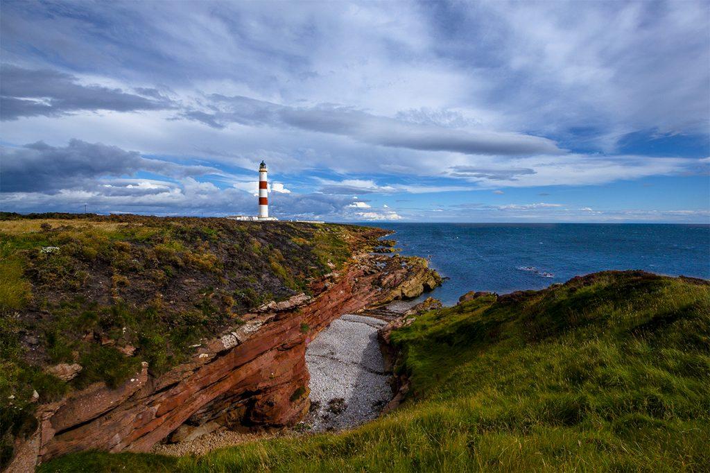 Tarbat Ness Lighthouse highlands