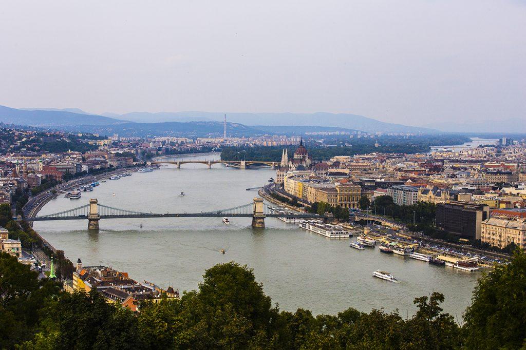 Panorama dalla Citadella budspest