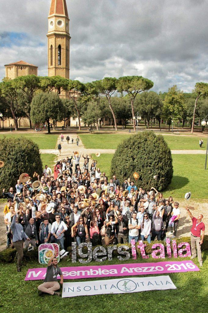 foto instameet dell'assemblea instagramers italia ad arezzo capello di paglia