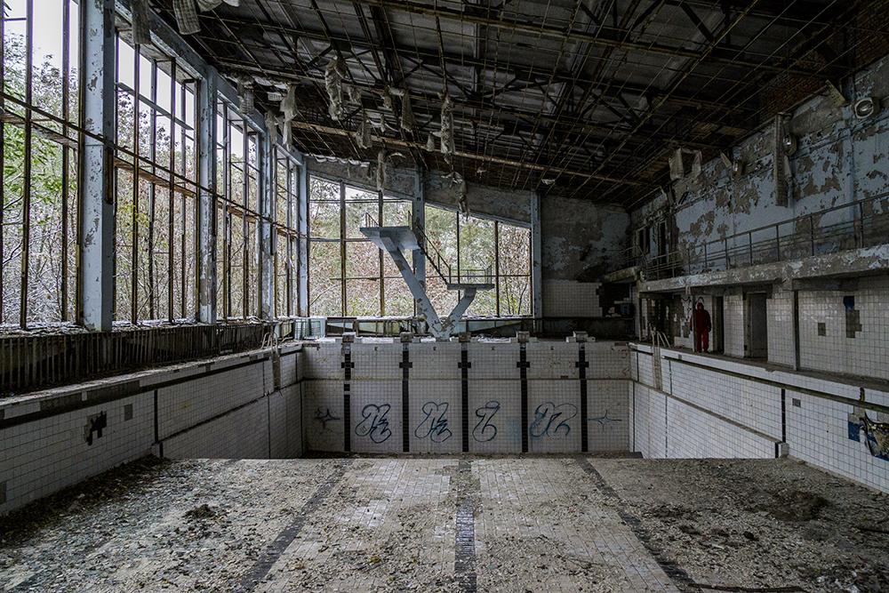 piscina pripyat chernobyl