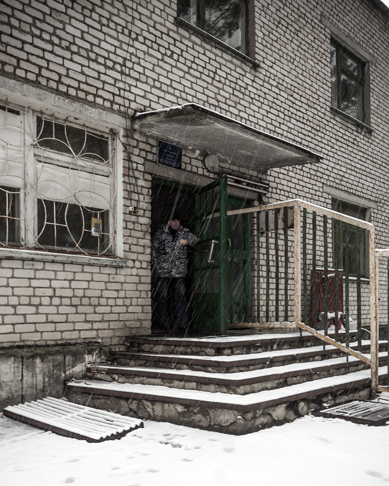 Guardia entrata DUGA 3 chernobyl