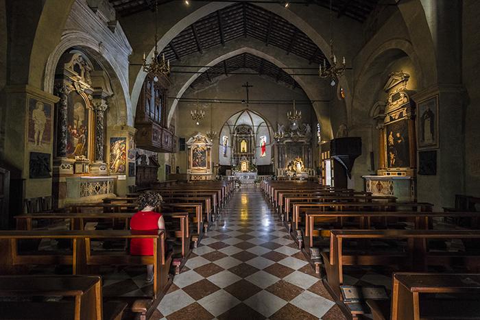 santa maria chiesa sirmione, lago di garda