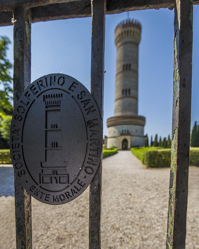 Torre di san martino della battaglia, lago di garda