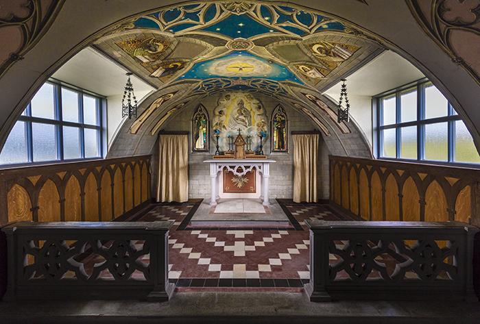 Chrchill Barrier italian chapel