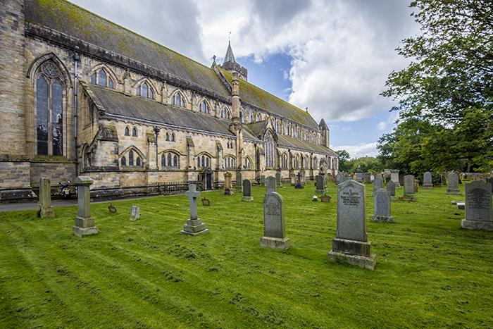 Dunblane cattedrale scozia lowlands