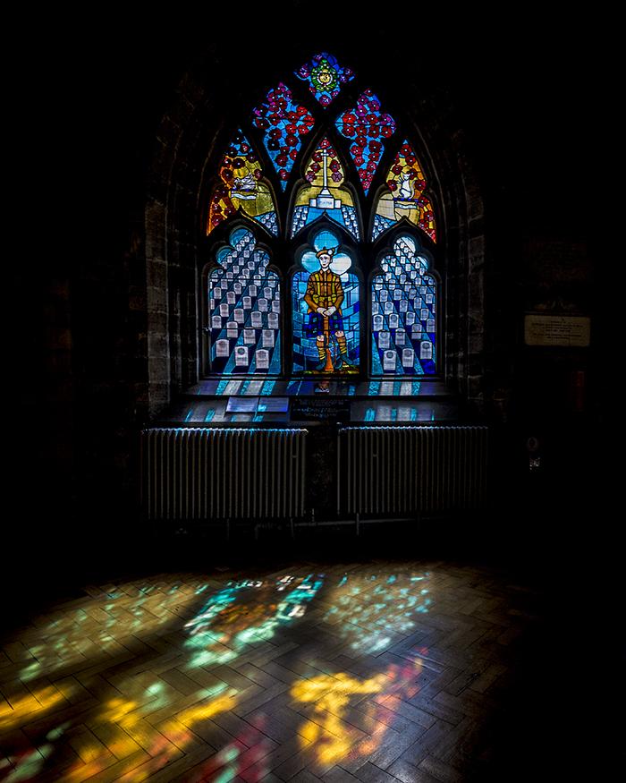 church of holy rude stirling lowland scozia