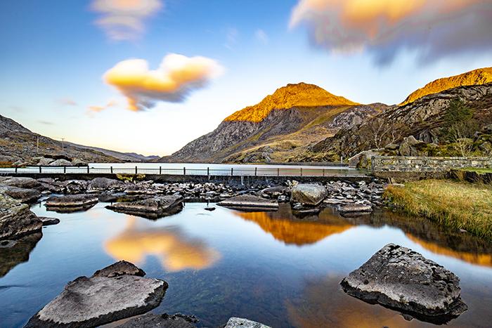 Galles del Nord - Snowdonia - Llyn Ogwden