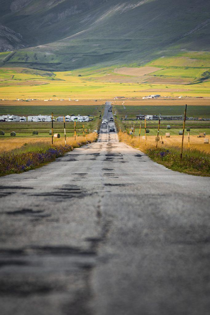 La lunga strada del Pian Grande