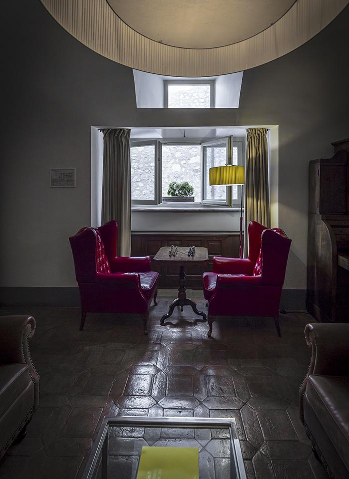 Palazzo Seneca - Area relax norcia