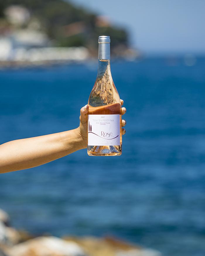 Argentario - Porto Santo Stefano con il Rosè di Tenuta Fertuna