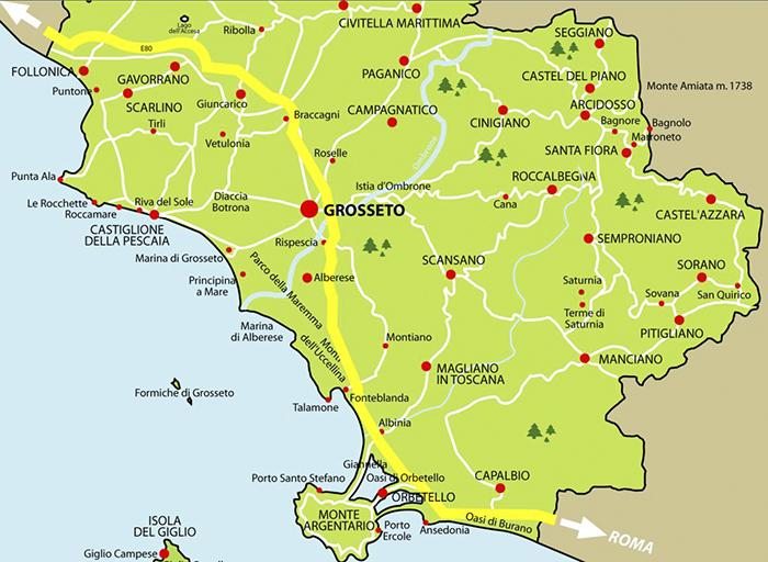 Mappa maremma