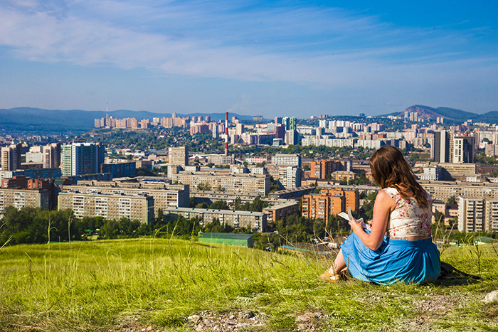 Krasnoyarsk from the top