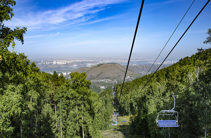 Log Ski Resort - Brobovy