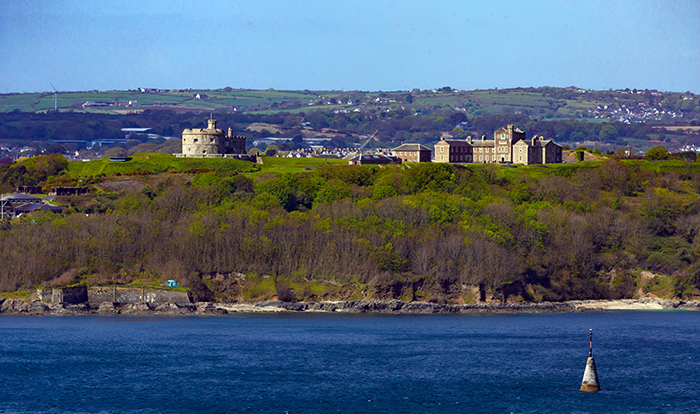 Pendennis Castle dalla St. Anthony's Head