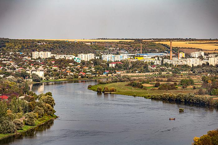vista della città di Soroca moldavia