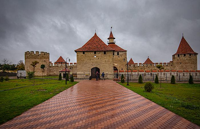 fortezza di bender tighina transnistria moldavia esterno