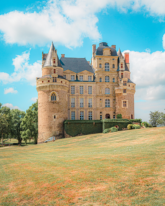 Facciata principale chateau de brissac