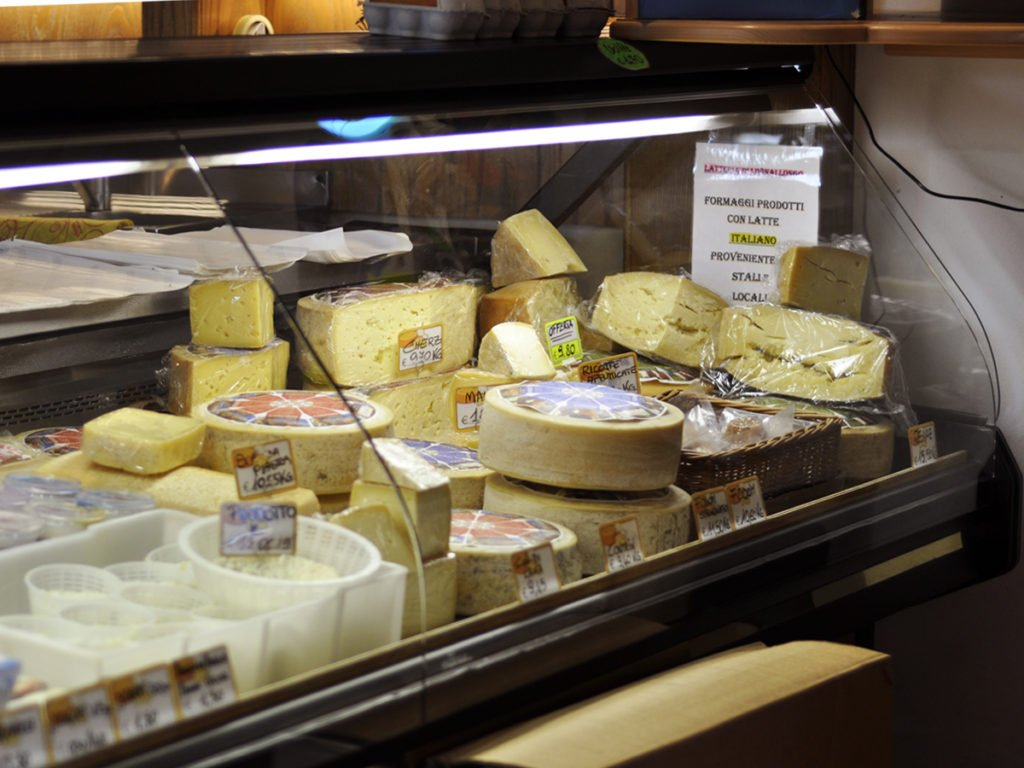 Latteria Livinallongo formaggi arabba